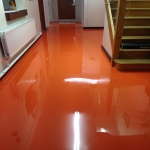 PU Indoor Resin Flooring in Almshouse Green 2