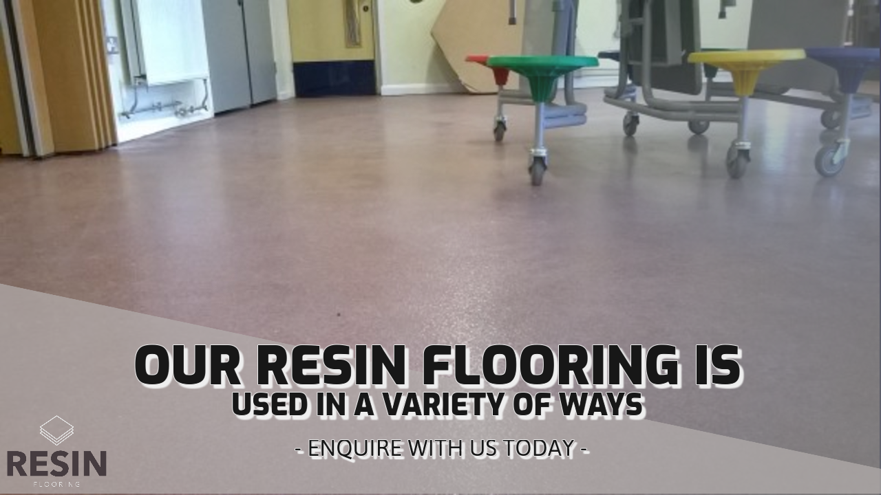 What is resin used for