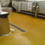 Indoor Resin Surfacing in Allwood Green 6