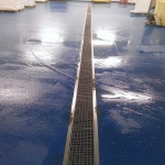 Indoor Resin Surfacing in Allwood Green 5