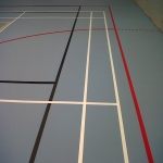 Sportshall Poylurethane Resin Flooring in Oxfordshire 3