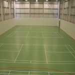 Sportshall Poylurethane Resin Flooring in Oxfordshire 2
