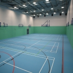 Sportshall Poylurethane Resin Flooring in Oxfordshire 4