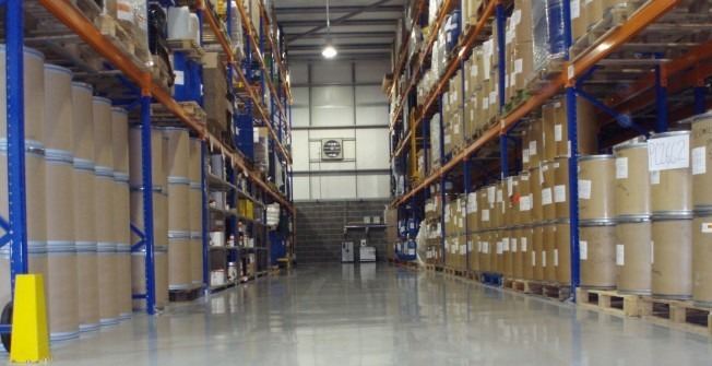 Industrial Resin Flooring Contractors in Alpington