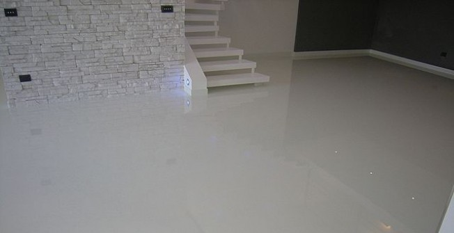 Self Levelled Industrial Floor in Abergele